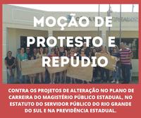 Moção de Protesto e Repúdio