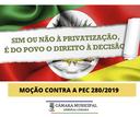 Moção Contra a PEC 280/2019