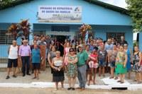Vereadores prestigiaram ato de inauguração de Unidade de Saúde.